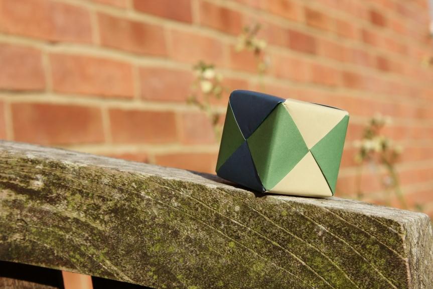 Origami cube – atutorial*